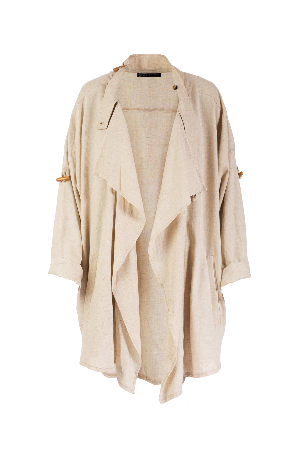 9755 - LOBITO - TRENCH CREAM -BYOU by Patricia Gouveia
