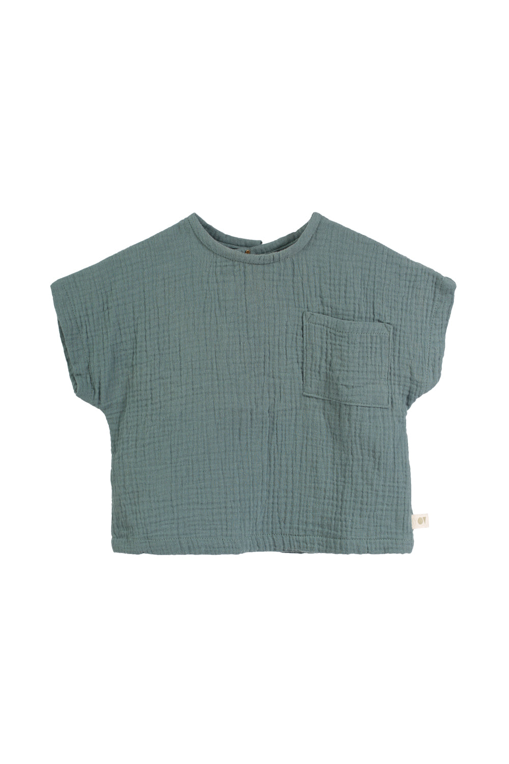 Bosque | sea blue t-shirt