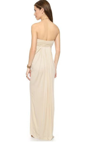 rachel pally leona dress in cream