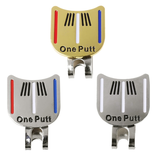 Golf Cap Clips Ball Aiming Marker Removable Metal Professional Training Supplies