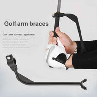 1pcs Golf Training Aid Aids Golf Swing Trainer Beginner Gesture Alignment Correct Swing Trainer Practical Practicing Guide