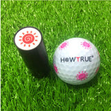 Plastic + Silicone Golf Ball Stamper Stamp Seal Impression Marker Print Gift Prize for Golfer