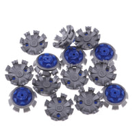14 Pcs Spike Golf Cleats Shoes Spikes Stinger Rubber Screw Studs Golf Spikes Replacement Fast Twist Golf Spikes Set Dusty Blue