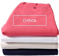 Chino trousers - made to measure