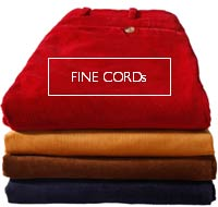 Fine Cord trousers - made to measure