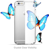 iPhone 6S & 6 Halo Scratch Resistant Hybrid Clear Case - AVT Express  - 10