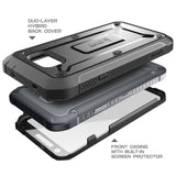 Samsung Galaxy S6 Active Beetle Pro Case [Heavy Duty Belt Holster Case] - AVT Express  - 2