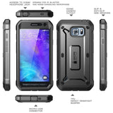 Samsung Galaxy S6 Active Beetle Pro Case [Heavy Duty Belt Holster Case] - AVT Express  - 4