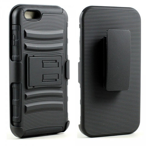 Apple iPhone 6/6S 4.7 Armor Shell Holster Combo Belt Clip - AVT Express  - 1