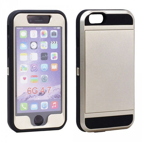 Apple iPhone Iron Defender Case with Card Slot and Screen - AVT Express  - 2