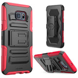 i-Blason Galaxy S6 Edge Plus Prime Black Dual Layer Holster Case with Kickstand and Belt Clip - AVT Express  - 10