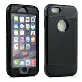 iPhone 6/6S 4.7 Slim Defender Case with Screen (Black) - AVT Express  - 2