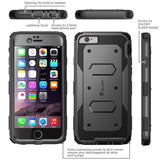 iPhone 6/6s Plus i-Blason ArmorBox Case with Build-in Screen Protector - AVT Express  - 2