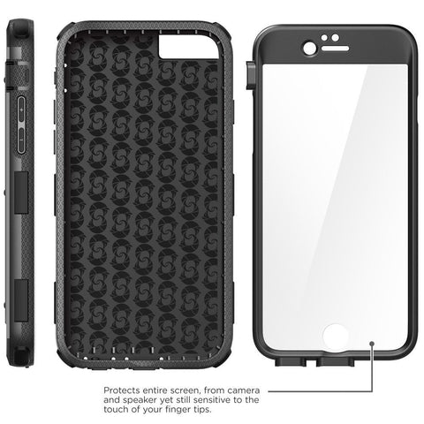 super cute a378f 1c412 iPhone 6/6s Plus i-Blason ArmorBox Case with Build-in Screen Protector