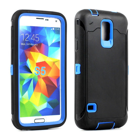 Samsung Galaxy S5 SM-G900 Armor Defender Case with Built in Screen - AVT Express  - 1