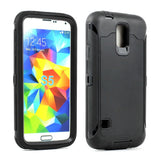 Samsung Galaxy S5 SM-G900 Armor Defender Case with Built in Screen - AVT Express  - 2