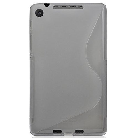 Silicone Case Cover for Google Nexus 7 2nd Gen (2013) - Gray - AVT Express  - 1