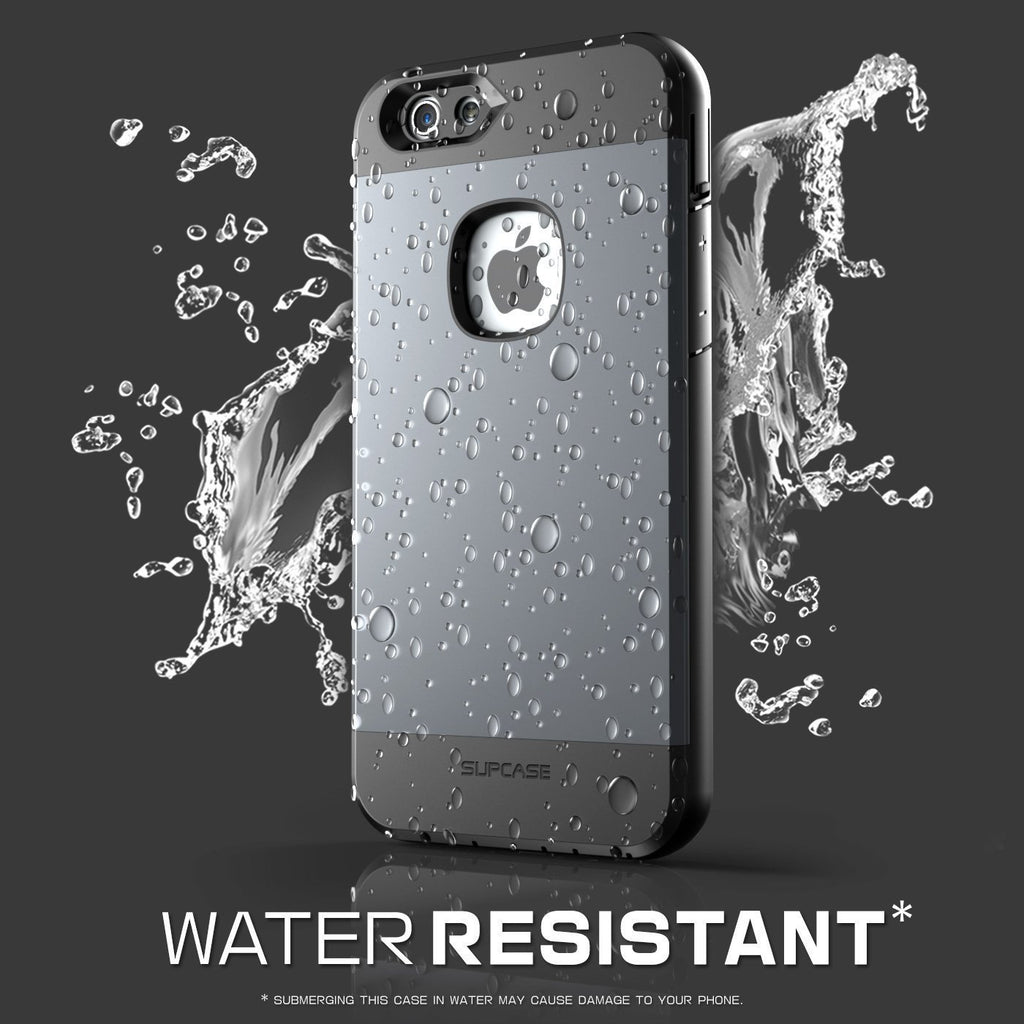 new concept 0aa3c 82c2b SUPCASE Full body Rugged Water Resistant Case for Apple iPhone 6 Plus 5.5  Inch