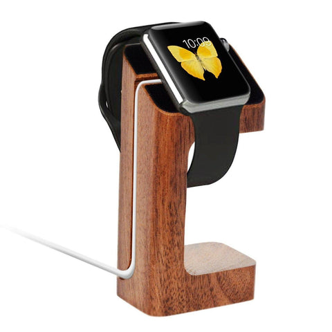 Apple Watch Bundle - Wood Stand and Glass Screen Protector - AVT Express  - 4