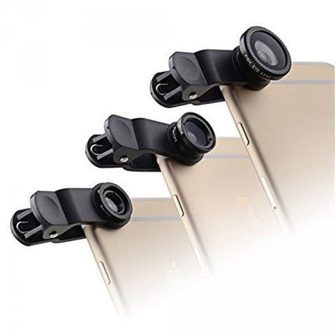 Universal Cell Phone Lens Clip (3 in 1) - AVT Express  - 1