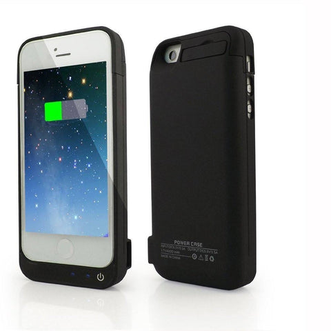 iPhone 5/5S/5C Power Bank Extended Battery Case (4200mAh) - AVT Express  - 1