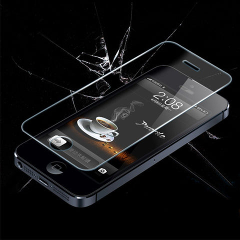 Apple iPhone 5 5C 5S Tempered Glass Screen Protector - AVT Express