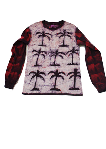 Palm trees long sleeves