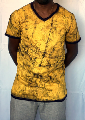 "Yellow V Neck ""Prospective"""