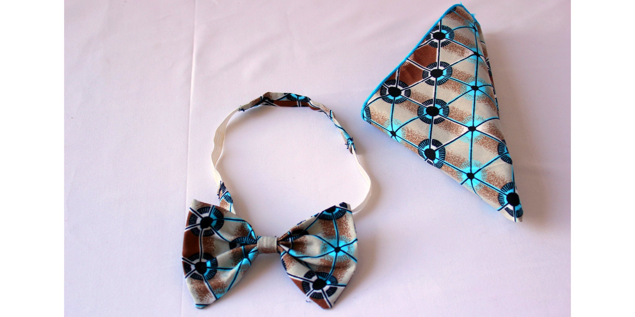 Combo Bow tie & Pocket Square