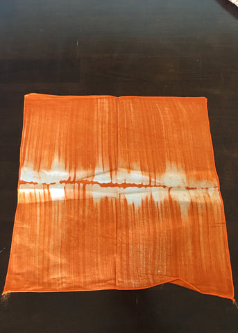 "Table Cloth Orange ""Prospective"""