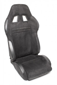Sport seat - black, alcantara, adjustable, left