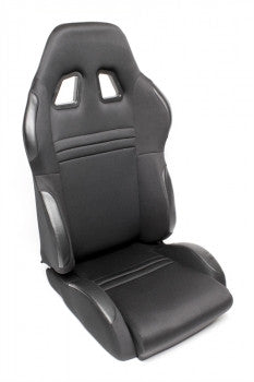 Sport seat - black cloth, adjustable, right