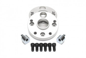 Wheel spacer adaptor set 25mm each side / 50mm per axle / 4x100 to 5x112