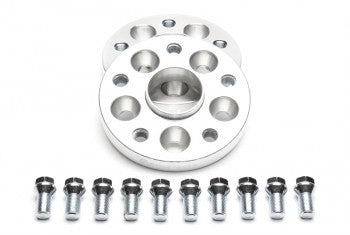 Wheel spacer adaptor set 20mm each side / 40mm per axle / 5x100 to 5x112 VW / Audi