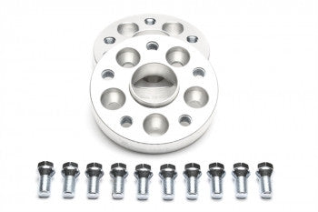 Wheel spacer adaptor set 25mm each side / 50mm per axle / 5x100 to 5x112 VW / Audi