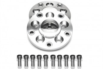 Wheel spacer adaptor set 15mm each side / 30mm per axle / 5x100 to 5x120  Audi / VW to BMW
