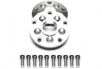 Wheel spacer adaptor set 15mm each side / 30mm per axle / 5x112 to 5x100