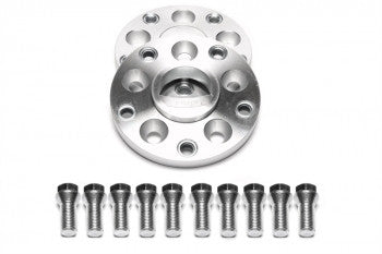 Wheel spacer adaptor set 5x112 to 5x130   15mm each side 30mm per axle Audi / VW to Porsche