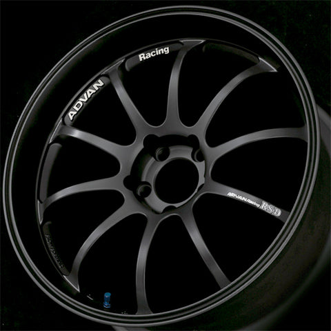 ADVAN RACING RZD 19x9.5 - ET35 - 120x5 PCD - MATT BLACK  ADRZD-Z9722