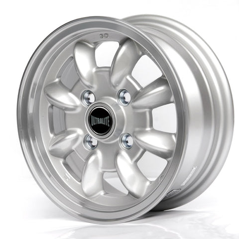 SPML1 / ULTRALITE MINI WHEELS 12x5J - ET30 - 4 X 101.6 PCD - SILVER