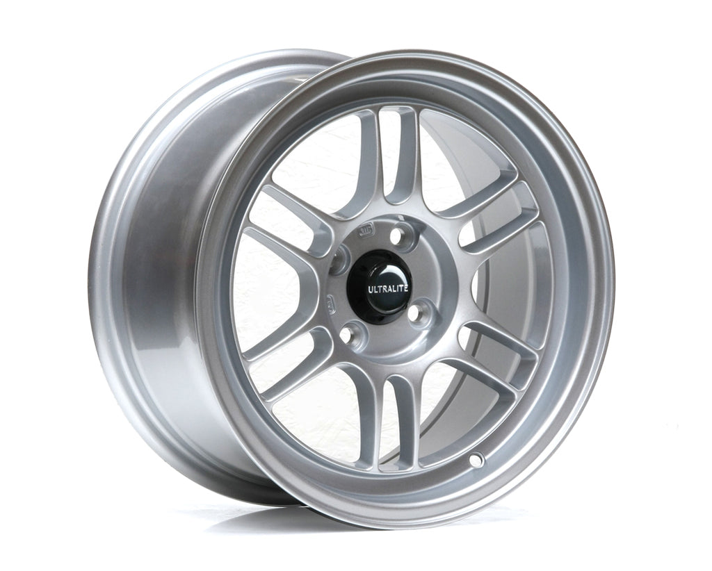ULF1-1575-1GS / ULTRALITE F1 - 15 x 7.5 INCH - ET30 - 100 x 4 PCD - GLOSS SILVER