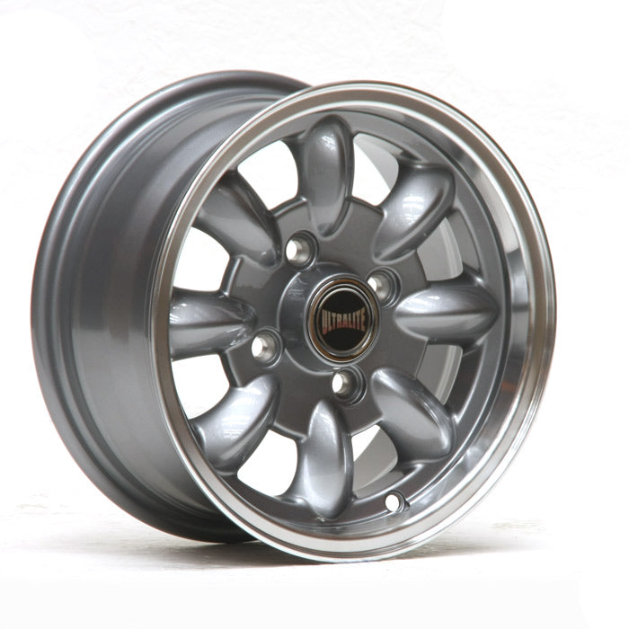 ULML1PG / ULTRALITE MINI WHEELS 12x5.5J - ET20 - 4x101.6 PCD - GUNMETAL + MACHINED LIP