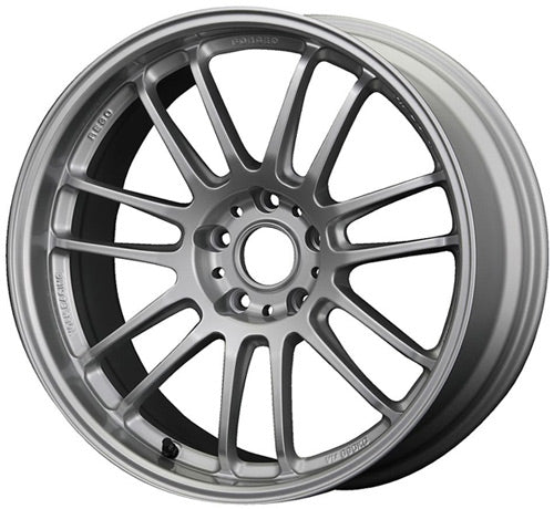 VOLKS RACING RE30 - 17x7.5 INCH - ET50 - 114.3x5 PCD FLAT SILVER S2000 / RE-0002