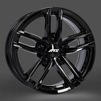 ATS Antares 16x7.0  5x112 Audi in Gloss Black