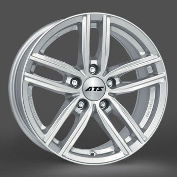 ATS Antares 17x7.0  5x112 Audi alloy wheel in Polar silver