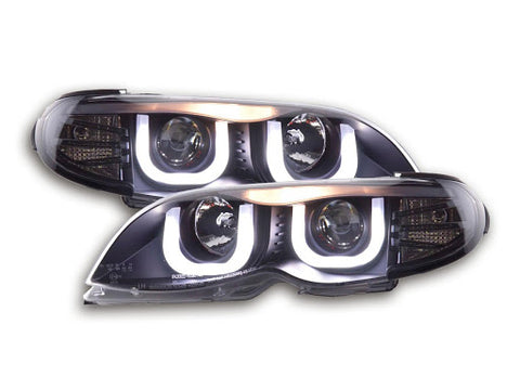 BMW serie 3 E46 saloon/Touring Yr. 02-05 Daylight Headlight black RHD
