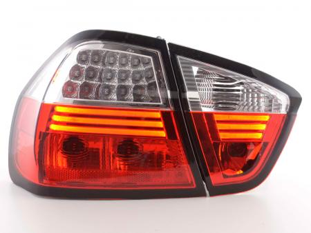 BMW Series 3 saloon type E90 Yr. 05-08 Led Taillights  clear/red