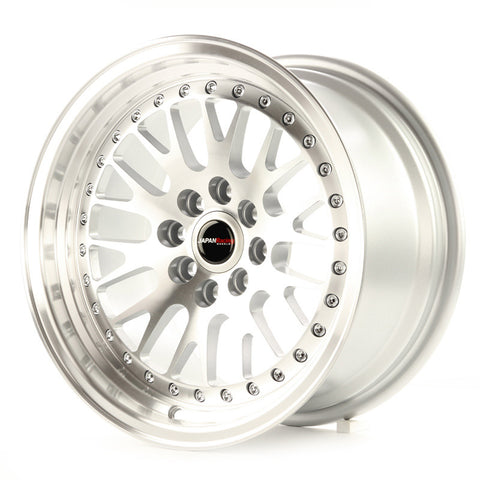 JAPAN RACING  JR10 15x9/ET10/4x100+114.3/SILVER MF