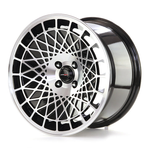 JAPAN RACING JR14 16x9/ET10/4x100/BLACK MACHINED
