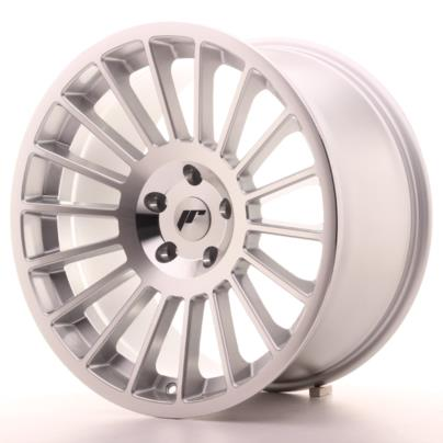 JAPAN RACING JR16 18x9.5/ET35/5x100/Machined Silver